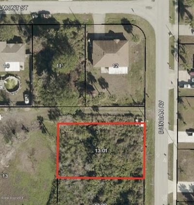 Residential Lots & Land For Sale: Duncan Avenue #PARCEL 1