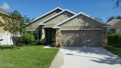 Titusville Single Family Home For Sale: 114 Breakaway Trail