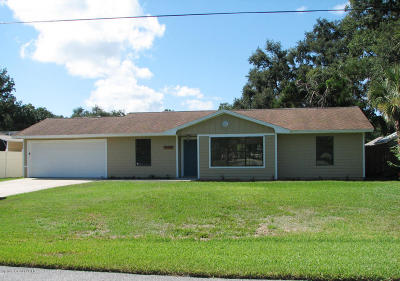 Brevard County Single Family Home For Sale: 7335 Darien Road