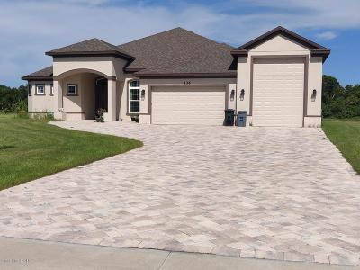 Malabar FL Single Family Home For Sale: $549,999