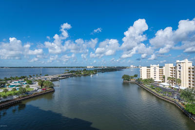 Merritt Island Condo For Sale: 134 Starboard Lane #806