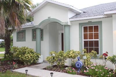 Merritt Island Single Family Home For Sale: 1694 Hortana Drive
