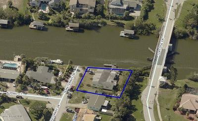 Satellite Beach Single Family Home For Sale: 473 N Waterway Drive N