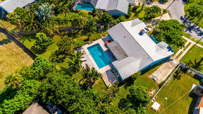 Indialantic Single Family Home Backups: 284 Coral Way W