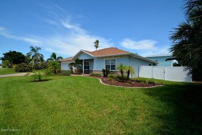 Melbourne Beach Single Family Home For Sale: 1501 Orange Street