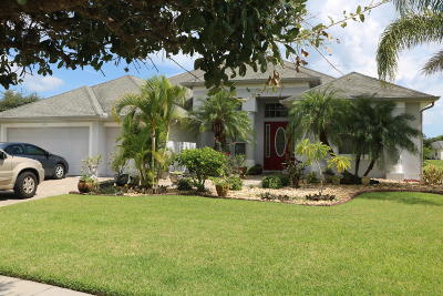 Palm Bay Single Family Home For Sale: 105 Ridgemont Circle SE