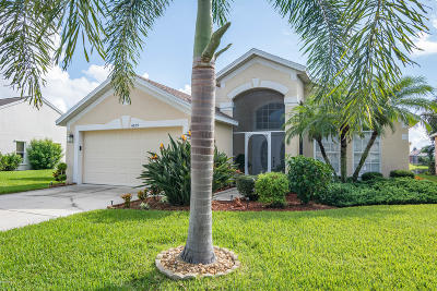 Viera Single Family Home For Sale: 4899 Worthington Circle
