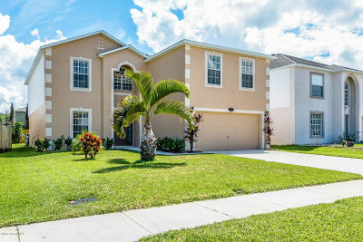 West Melbourne Single Family Home For Sale: 571 Tortuga Way
