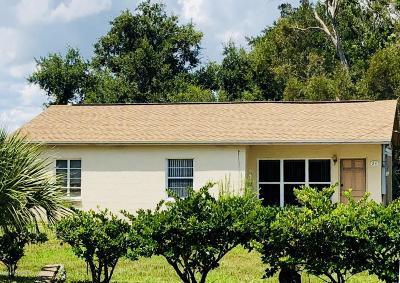 Rockledge Single Family Home For Sale: 23 Coquina Road