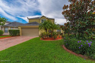Rockledge Single Family Home For Sale: 2827 Mondavi Drive