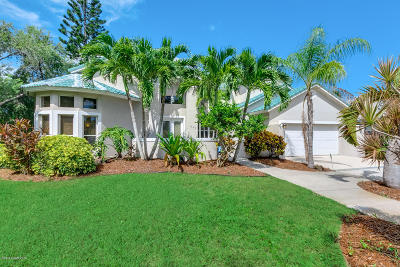 Indialantic Single Family Home For Sale: 1790 Canterbury Drive