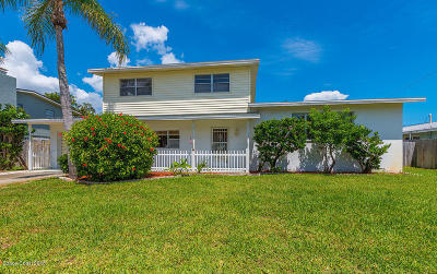 Indian Harbour Beach Single Family Home For Sale: 1108 Cheyenne Drive