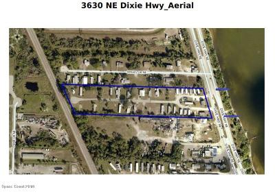 Palm Bay Multi Family Home For Sale: 3630 NE Dixie Highway NE