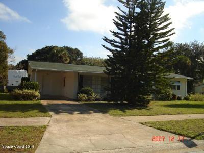 Titusville Single Family Home For Sale: 1105 Morse Avenue