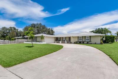 Palm Bay Single Family Home For Sale: 609 Roberts Lane NE