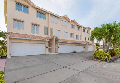Satellite Beach Townhouse For Sale: 1697 Highway A1a Highway #A