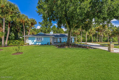 Vero Beach Single Family Home For Sale: 4826 61st Court