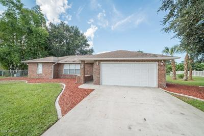 Palm Bay Single Family Home For Sale: 785 Hawser Street NE