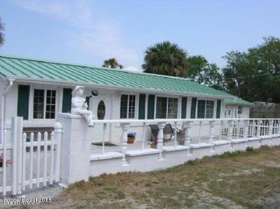 Titusville Single Family Home For Sale: 5433 Riveredge Drive