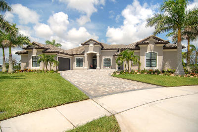 Rockledge Single Family Home For Sale: 3358 Imperata Drive