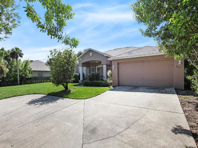 Titusville Single Family Home For Sale: 7571 Windover Way