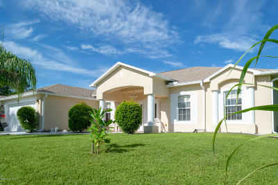 Palm Bay FL Single Family Home For Sale: $259,900