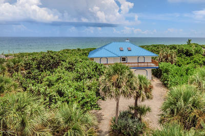 Melbourne Beach Single Family Home For Sale: 8585 S Highway A1a S
