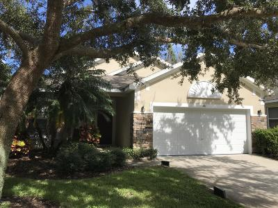 Titusville Single Family Home For Sale: 381 Waterside Circle