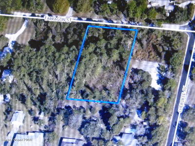 Cocoa Residential Lots & Land For Sale: 3221 Tarragon Street