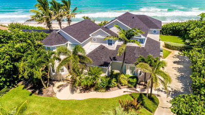 Indialantic, Melbourne, Melbourne Beach, Satellite Beach, Cocoa Beach, Cape Canaveral Single Family Home For Sale: 3185 S Highway A1a