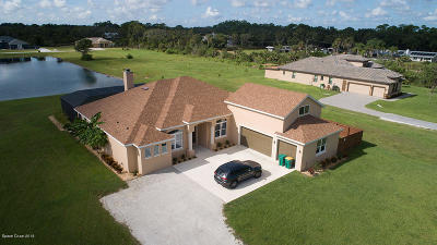 Merritt Island Single Family Home For Sale: 1755 Chase Hammock Road