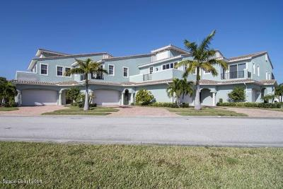 Indian Harbour Beach Townhouse For Sale: 148 Mediterranean Way