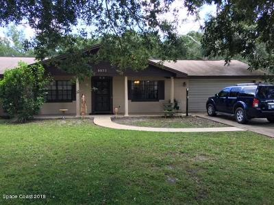 Mims Single Family Home For Sale: 6055 Palm Street
