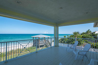 Melbourne Beach Single Family Home For Sale: 6701 S Highway A1a