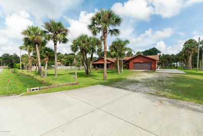 Cocoa Single Family Home For Sale: 4660 Rector Road