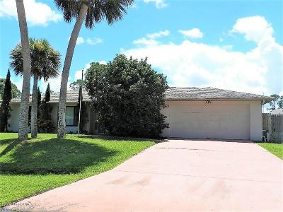 Palm Bay FL Single Family Home For Auction: $213,500