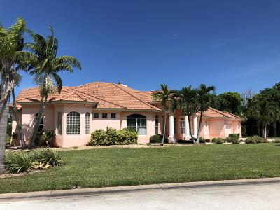 Cocoa Beach Single Family Home For Sale: 73 E River Falls Drive