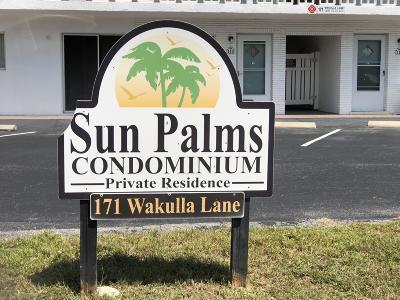Cocoa Beach Rental For Rent: 171 Wakulla Lane #115