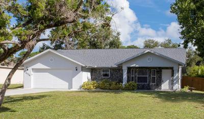 Merritt Island Single Family Home For Sale: 1770 Fowler Drive