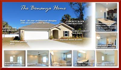 Single Family Home For Sale: 4560 Bonanza Street