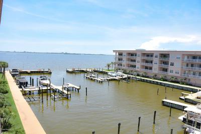 Merritt Island Condo For Sale: 540 S Banana River Drive #301