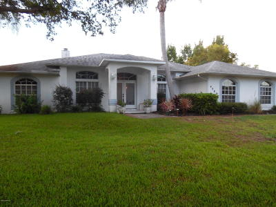 Titusville Single Family Home For Sale: 4580 Helena Drive