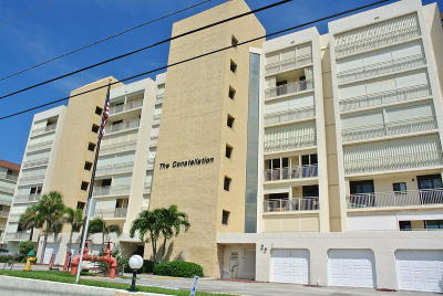 Cocoa Beach Condo For Sale: 3219 S Atlantic Avenue #201