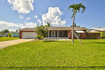 Merritt Island Single Family Home For Sale: 955 Audubon Road