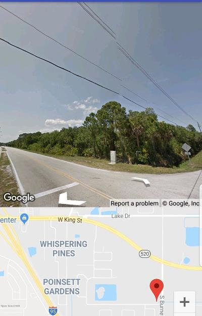 Cocoa Residential Lots & Land For Sale: S.burnett/Parrish Road