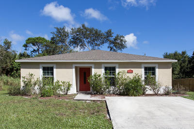 Vero Beach Single Family Home For Sale: 1946 25th Street SW