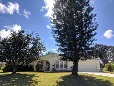 Brevard County Single Family Home For Sale: 550 Heather Avenue NE