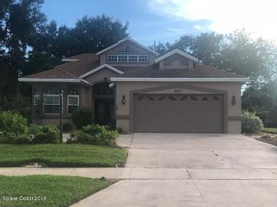 Titusville Single Family Home For Sale: 685 Bella Vista Drive