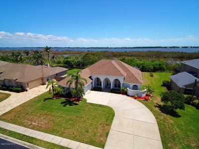 Merritt Island Single Family Home For Sale: 2380 Marsh Harbor Avenue