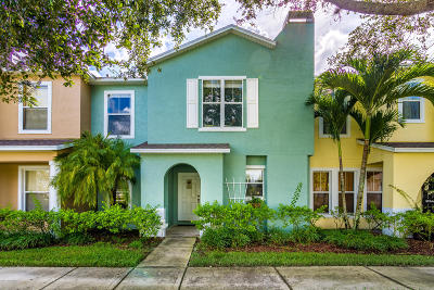 Vero Beach Townhouse For Sale: 1585 Par Court
